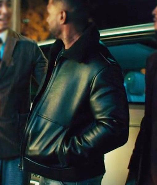 Omar Johnson Leather Jacket