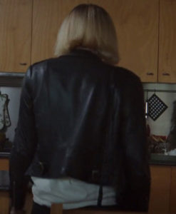 Pia Brewer Clickbait 2021 Leather Jacket