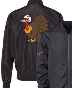 The Overs Club The Big Gobble Bomber Jacket