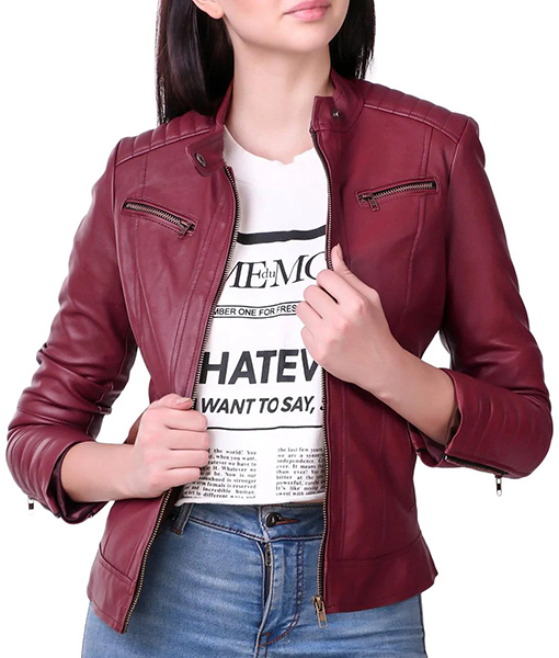 Claire Redfield Resident Evil Biker Jacket